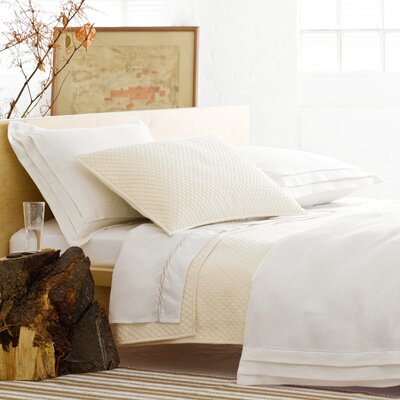 Pine Cone Hill Diamond Matelasse Cotton Coverlet Collection