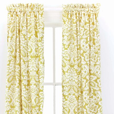 Pine Cone Hill Imperial Cotton Rod Pocket Curtain Single Panel