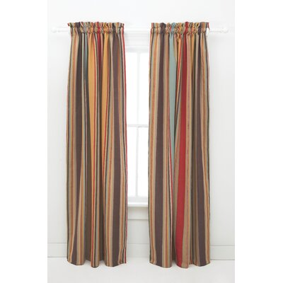 Pine Cone Hill Whitney Cotton Rod Pocket Curtain Single Panel