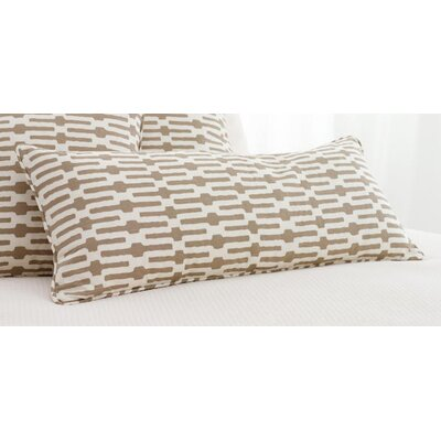 Pine Cone Hill Neutral Territory Links Double Boudoir Decorative Pillow