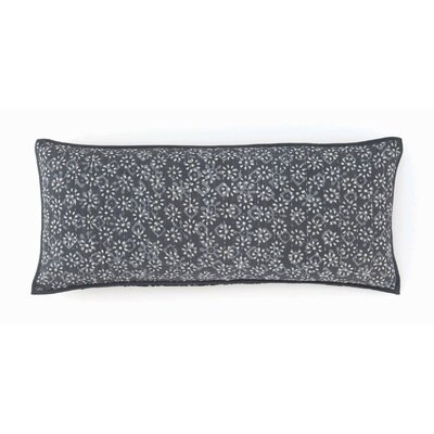 Resist Kantha Cotton Boudoir Pillow