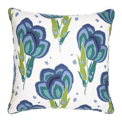 <strong>Pine Cone Hill</strong> Graphic Traffic Happy Poppies Decorative Pillow