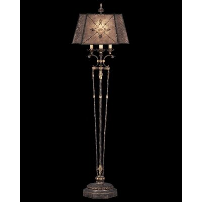 Fine Art Lamps Villa 1919 One Light Floor Lamp in Rich Umber
