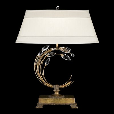 Fine Art Lamps Crystal Laurel Gold One Light Table Lamp