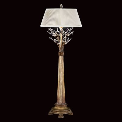 Fine Art Lamps Crystal Laurel 1 Light Table Lamp