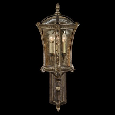 Fine Art Lamps Gramercy Park 4 Light Outdoor Wall Lantern