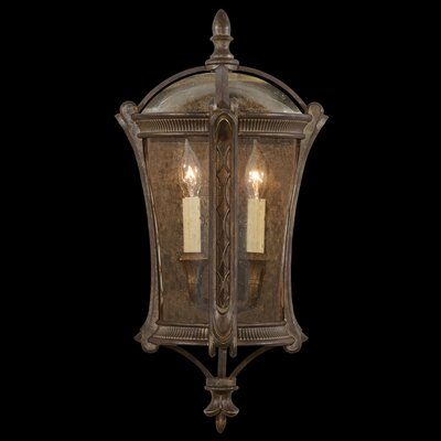 Fine Art Lamps Gramercy Park 2 Light Outdoor Wall Lantern