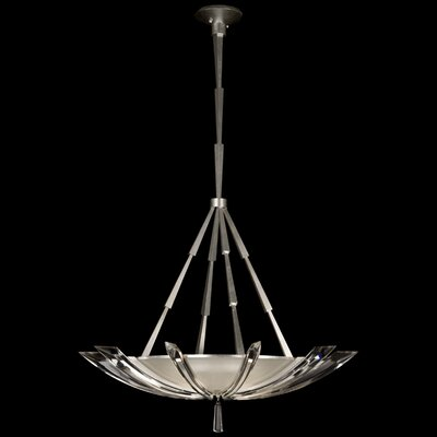 Fine Art Lamps Vol de Cristal 3 Light Inverted Pendant