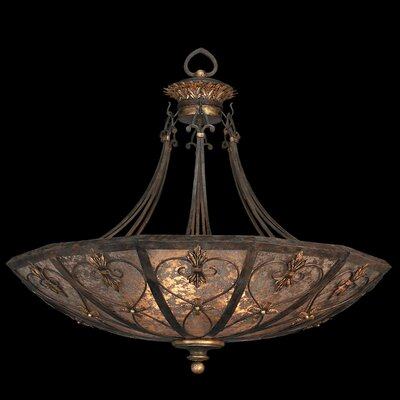 Fine Art Lamps Villa 1919 3 Light Inverted Pendant