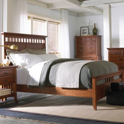 Cresent Furniture Modern Shaker Panel Bedroom Collection
