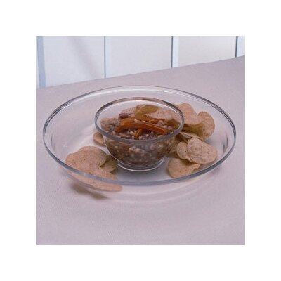 William Bounds Grainware Serving Necessities 2 Piece Chip and Dip