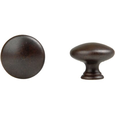 Bosetti-Marella Round Knob in Oil Rubbed Bronze