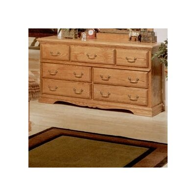 Bebe Furniture Country Heirloom 7 Drawer Dresser