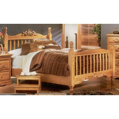 Bebe Furniture Country Heirloom Slat Bed