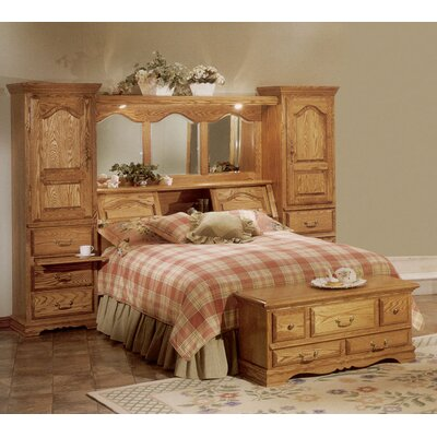 Bebe Furniture Country Heirloom Pier Wall Platform Bedroom Collection