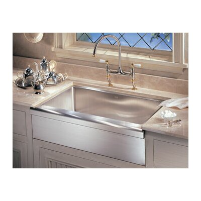 "Franke Manor House 30"" x 20.88"" Apron Front Kitchen Sink 