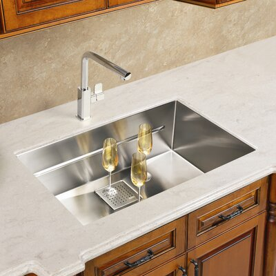 "Franke Peak 19.75"" x 17.75"" Single Bowl Kitchen Sink"