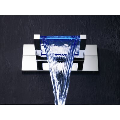 Hansa HansaCanyon Electronic Shower Mixer without Spout in Chrome