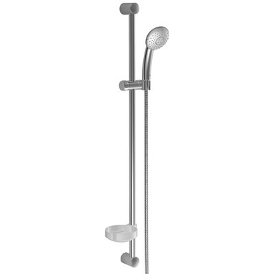 "Hansa 36"" Sliding Wall Bar with Hose and Hand Shower 3 Spray"