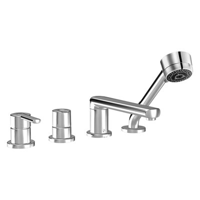 Hansa HansaRonda 4 Hole Roman Tub Trim Kit in Chrome