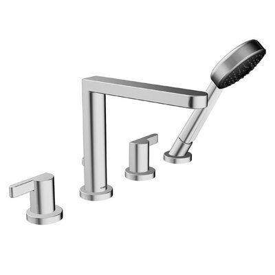 Hansa HansaEdge Double Handle Deck Mount Roman Tub Faucet Trim