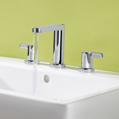 Hansa HansaEdge Widespread Bathroom Faucet with Double Handles