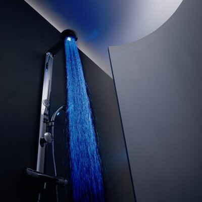 Hansa HansaColourShower Shower System in Chrome