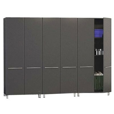 Garage 4' H x 7' W x 2' D 3-Piece Tall Storage System