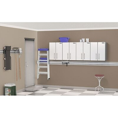"Ulti-MATE Storage 4-Piece 2-Door 24"" Wall Cabinet Kit in Starfire Pearl"