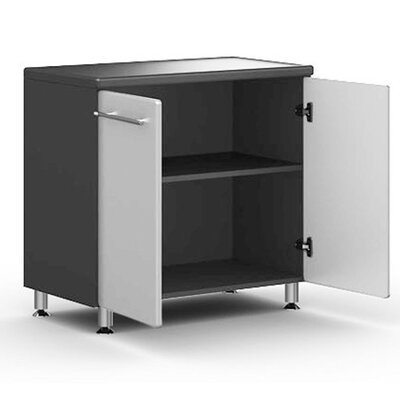 "Ulti-MATE Garage Large 36"" Two Door Base Cabinet w/ Adjustable Shelf in Starfire Pearl"