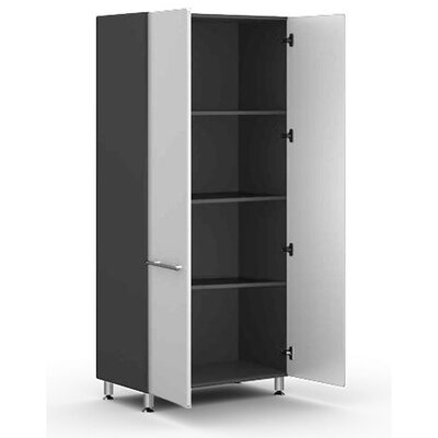 "Ulti-MATE Garage Two Door large 36"" Tall Cabinet w/Three Shelves in Starfire Pearl"