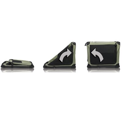 "Noz2Noz 30"" Green Pet Model N2 Sof-Krate"