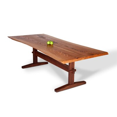 David Stine Woodworking Large Oak Dining Table