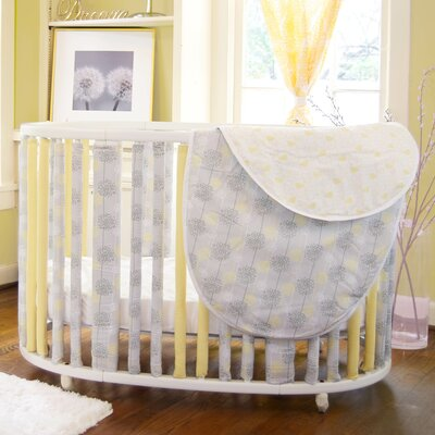 Go Mama Go Wonder Bumpers Modern Nature Bumper and Crib set (Set of 44)