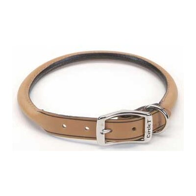 Pet Leather Round Collar