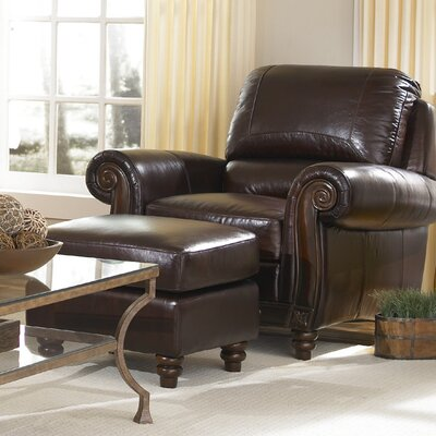 Wildon Home ® Arm Chair and Ottoman