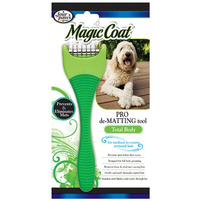 Four Paws Magic Coat Total Body Pet De-Matting Tool