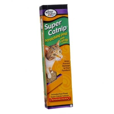 "Four Paws 17"" Catnip Scratching Post"