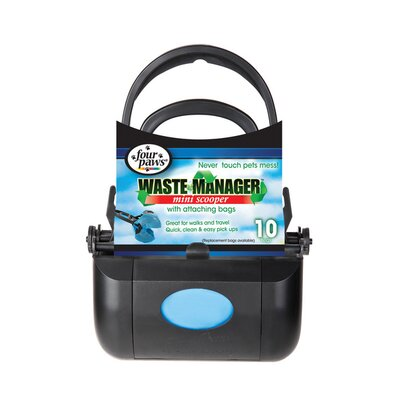 Four Paws Dog Waste Manager Mini Scooper