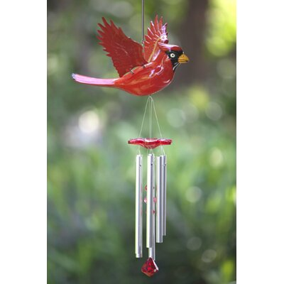WindyWings Cardinal Wind Chime
