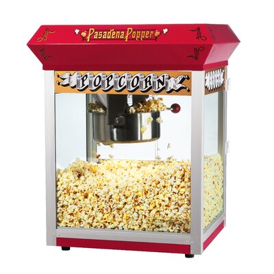Great Northern Popcorn Pasedena 8 Ounce Antique Popcorn Machine with Cart