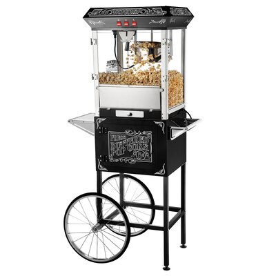 Great Northern Popcorn 8 Oz. Popcorn Popper Machine with Cart