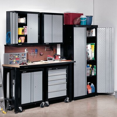 Stack-On 6' H x 4.5' W x 3.5' D 5-Piece Cadet Garage Storage System