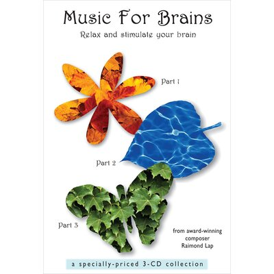 Lovely Baby Music Music for Brains CD (Set of 3)