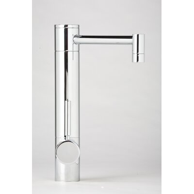 Waterstone Hunley One Handle Single Hole Bar Faucet with Built-In Diverter and Lever Handle