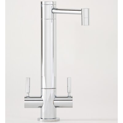 Waterstone Hunley Two Handle Single Hole Bar Faucet with Lever Handle