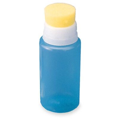 Sparco Products Squeeze Moistener Bottle, 2 oz. Capacity, Unbreakable, Blue