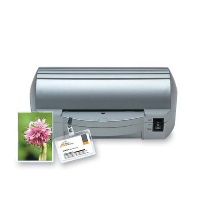 Sparco Products Paper/Document Laminator, 4&quot; W, 10&quot;x6-1/2&quot;x3-1/4&quot;, Gray