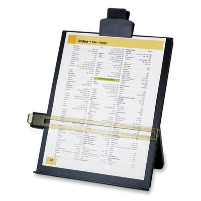 "Sparco Products Easel Document Holders, Adjustable, 10-3/8""x2-1/4""x12-1/2"", BK"