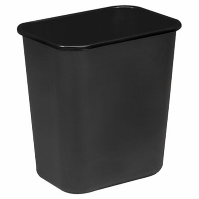 Sparco Products 7-Gal. Rectangle Wastebasket
